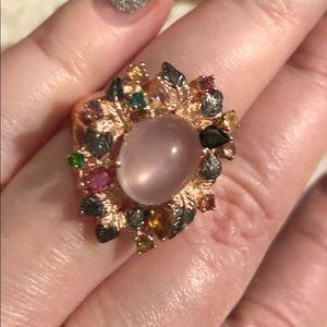 Jewelry - SPECIAL ARTSIAN gemstone sterling FAB ring